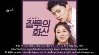(Jealousy Incarnate OST Part 1) Heize ft. Go Young Bae - Did You Come In a UFO Türkçe Alt. (Han/Rom)