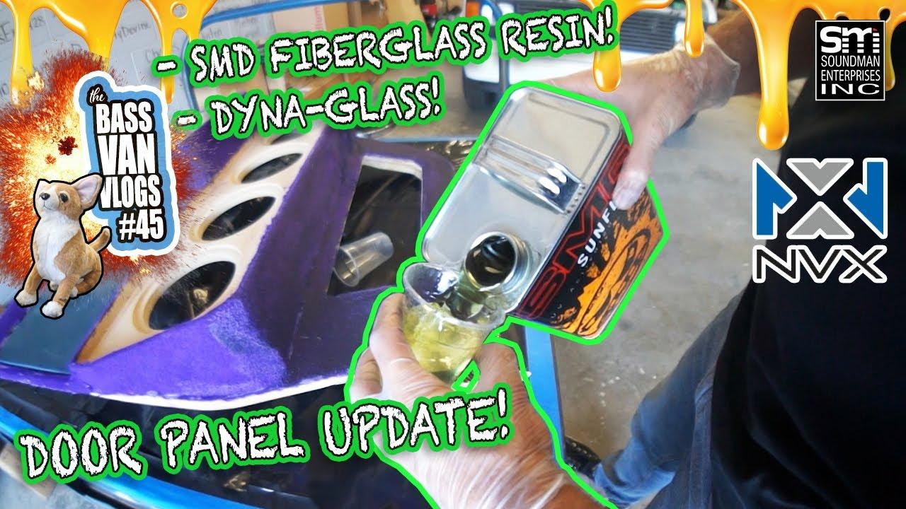 DOOR PANEL UPDATE! - fleece, resin, filler - BVV#45