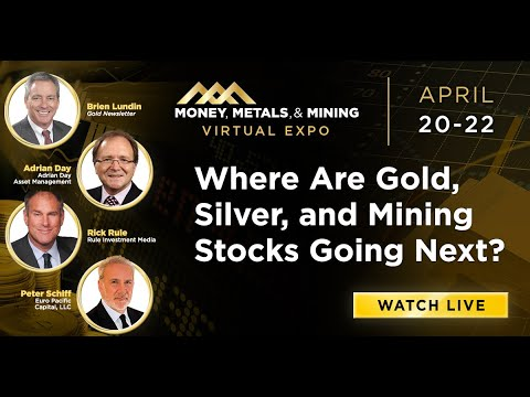 Where Are Gold, Silver, and Mining Stocks Going Next | Peter Schiff, Rick Rule, Adrian Day, Lundin