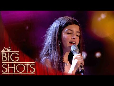 Angelina stuns the audience with her voice | Little Big Shots