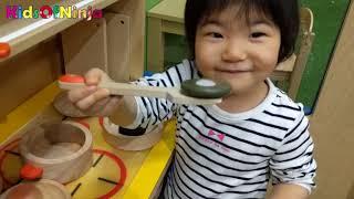 おままごと ごっこ遊び クッキング 子供とお出かけ 室内遊び場 Indoor Playground Kids Pretend Play