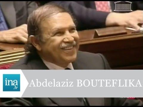 Abdelaziz Bouteflika à l'Assemblée Nationale - Archive INA
