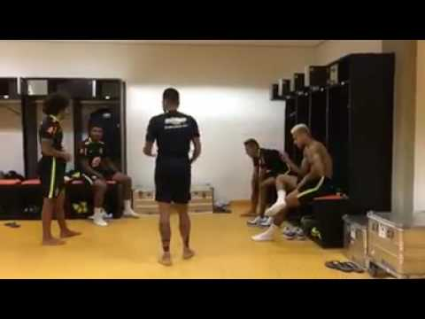 NeymarMarceloAlves Dance together