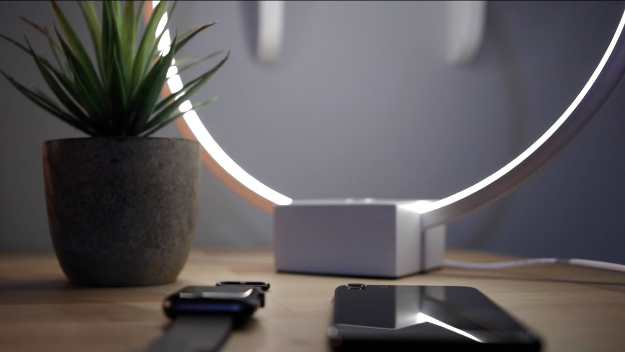 Brightech   Circle LED Lamp Review   YouTube