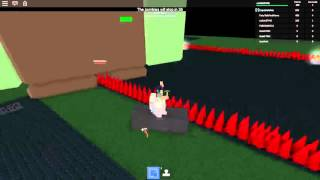 Roblox / build to survive survive zombie glitch to make a moving car