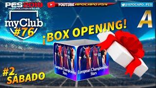 PES2019 myClub #76   #2 Box Opening CHAMPIONS LEAGUE #UCL ¡Volvemos a por la CAJA A!