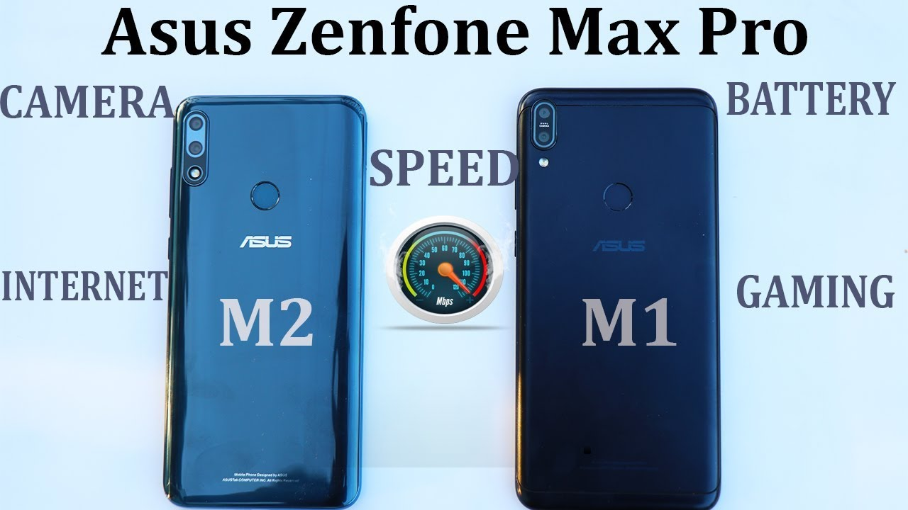 Asus Zenfone Max Pro M2 vs M1 #Speed Test#Camera#internet#battery 100%  drain#gaming