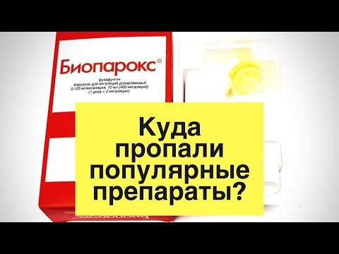 ИНТЕРЕСНО ЗНАТЬ: Куда пропали препараты: Биопарокс и Гинипрал в таблетках