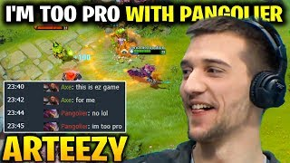 Arteezy Pangolier: I'm Too Pro with This Hero