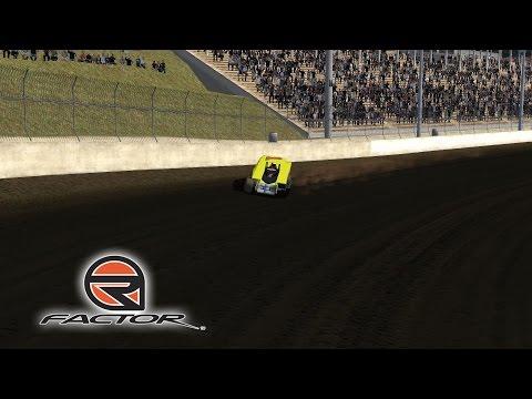 rFactor - 321 Development Big Block Modifieds - Eldora Speedway (Three Wheels)