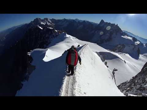 Hike and fly Mont blanc du Tacul / ITV bipbip 16