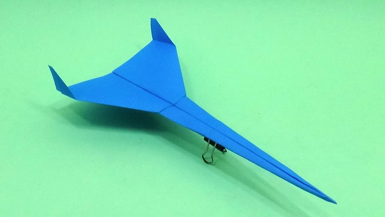 DIY Toy Eagle Jet Fighter | How To Make A Paper Airplane Model ... | 720x1280