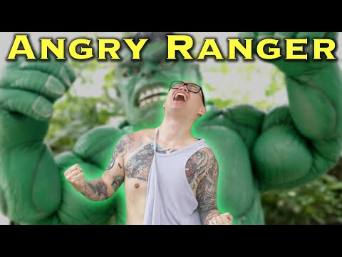 The Angry Green Ranger - feat. THE HULK [Power Rangers Morph Problem]