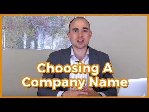 How To Come Up With A Name For Your Real Estate Investment Company