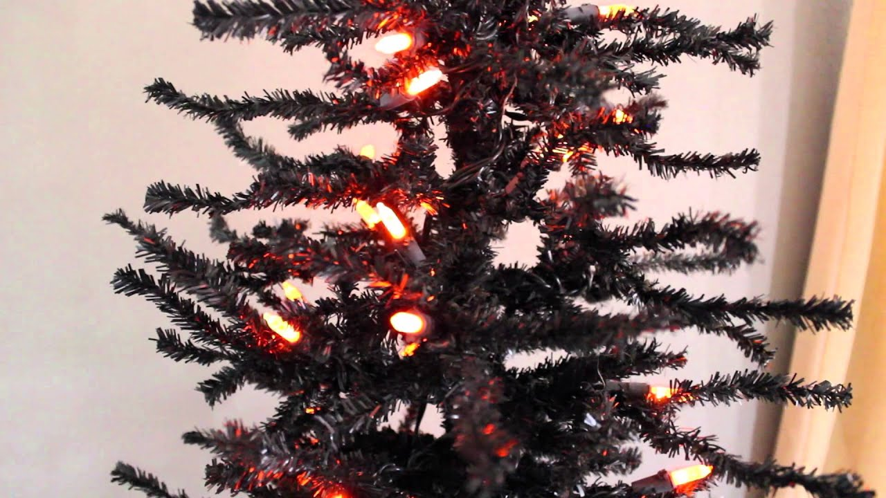 A Look At Our Artificial Black Halloween Tree