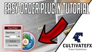 HOW TO INSTALL 'EASY ORDER' PLUGIN ON MT4 (FOREX RISK MANAGEMENT)