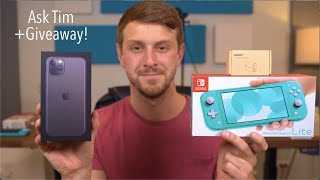 Ask Tim: 600k Subscribers and iPhone 11 Pro Giveaway!
