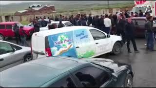 Քաղաքացիները փակել են Հյուսիս-հարավ ճանապարհը, Արագածոտնի մարզ