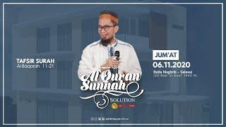 Download lagu [LIVE] Program AQSO : Serial Tafsir Surah Al-Baqarah Ayat 11-21 - Ustadz Adi Hidayat