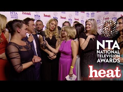 Strictly Scoop Best Talent Award at National Television Awards 2014