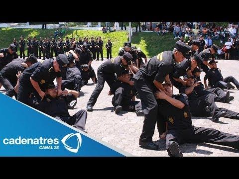 Gobierno de Veracruz emplea acciones para la optima formación de policías