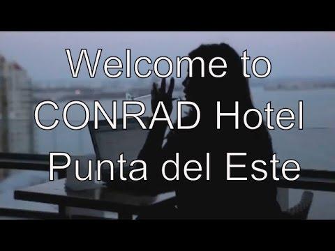 CONRAD HOTEL ★★★★★ PUNTA DEL ESTE ... DISCOUNT at the END