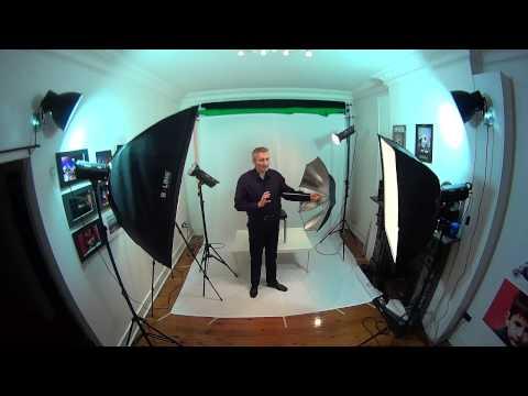 Studio Lighting Basics Home Based Studio Easy Set Up 1