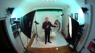 studio lighting basics - home based studio easy set up - 1,2,3,4 lights portrait