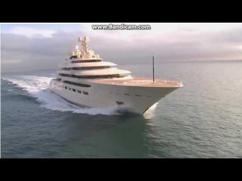 Как строили яхту Dilbar для Алишера Усманова