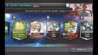 INSANE FIFA MOBILE NEW RETRO STARS PACK OPENING!! WITH LIMITED WQ BUNDLE & MORE PACKS! | FIFA Mobile