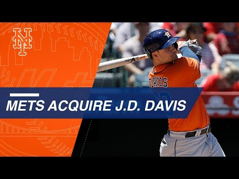 Mets trade 3 prospects to Astros for J.D. Davis