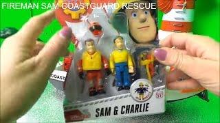 Pompier Sam, Charlie - Playmobil Gardien de la Côte