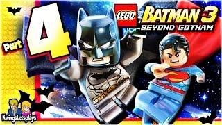 LEGO BATMAN 3 - Walkthrough Part 4 Space Suits You Sir!