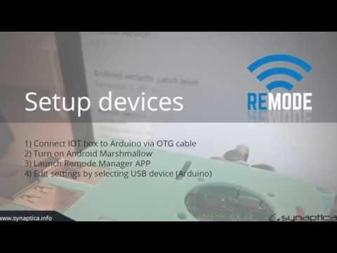 Synaptica Iot Box (Remode Manager / Raspberry PI3 / Arduino Duemilanove)