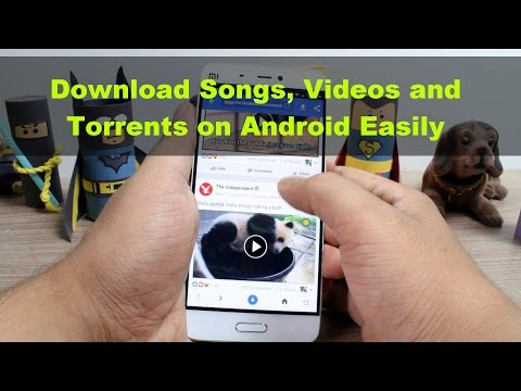 How to Download Songs, Videos and Torrents on Android Easily from any Website