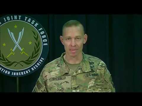 NATO w/CC: MOSUL/RAQQA: 1-11-17: Coalition Update & Press Q&A w/ U.S. Army Col.