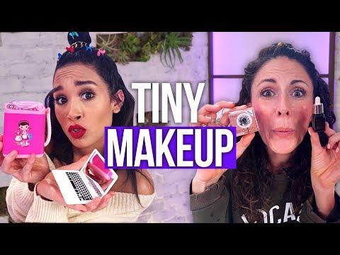 Testing the Mini Beauty Blender Washing Machine & other TINY Products! (Beauty Break)