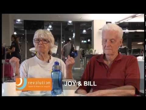 Revolution Health and Fitness Member Testimonial Joy and Bill