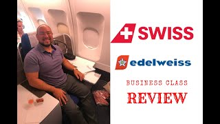 Business Class on Swiss / Edelweiss Air Review - Sri Lanka (CMB) to Zürich (ZHR) Airport
