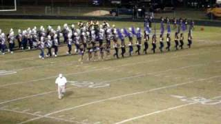 Blount High School Marching Band  Field Show vs. Williamson 2009
