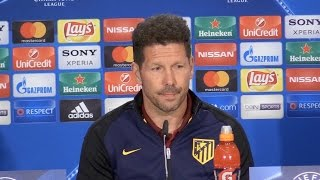 Diego Simeone Reacts To News Of Borussia Dortmund Team Bus Explosion During Press Conference