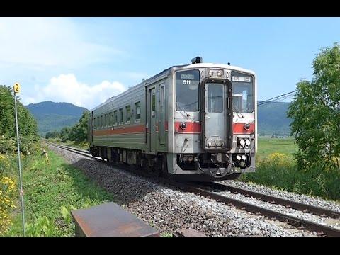 宗谷本線・北比布駅にて Kita ...