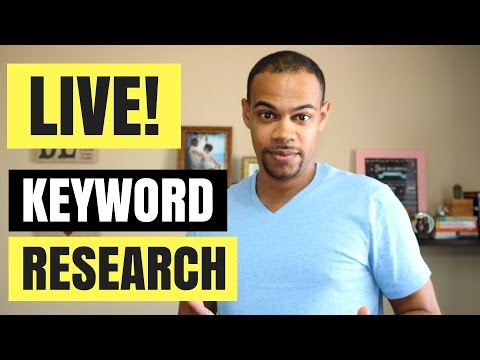Kindle Niche and Keyword Research LIVE