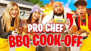 Pro Chef BBQ Cooking Challenge ft. Valkyrae, BrookeAB, Kris London