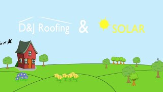 DJ Roofing & Solar examples of Solar Panel and Roofing work..