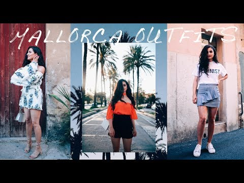 [VIDEO] - SUMMER LOOKBOOK 2017 | Travel Outfits Diary - Mallorca ? 7