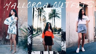 SUMMER LOOKBOOK 2017 | Travel Outfits Diary – Mallorca 🌴