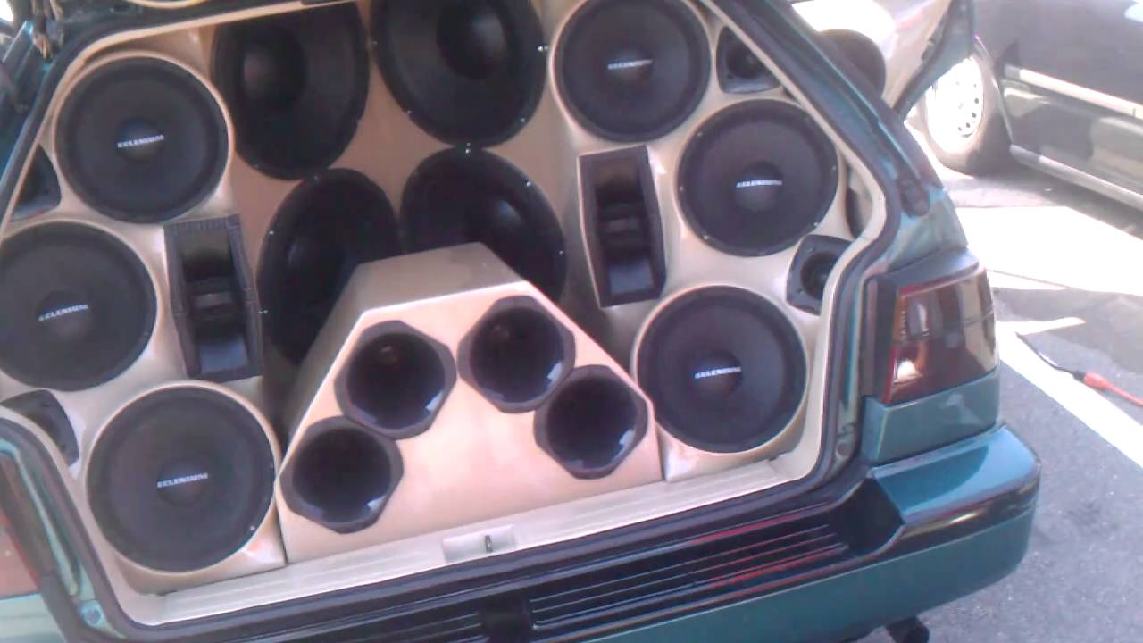 Bose Car Speakers >> Selenium speakers and stetsom amps in a tiny car= LOUD ...