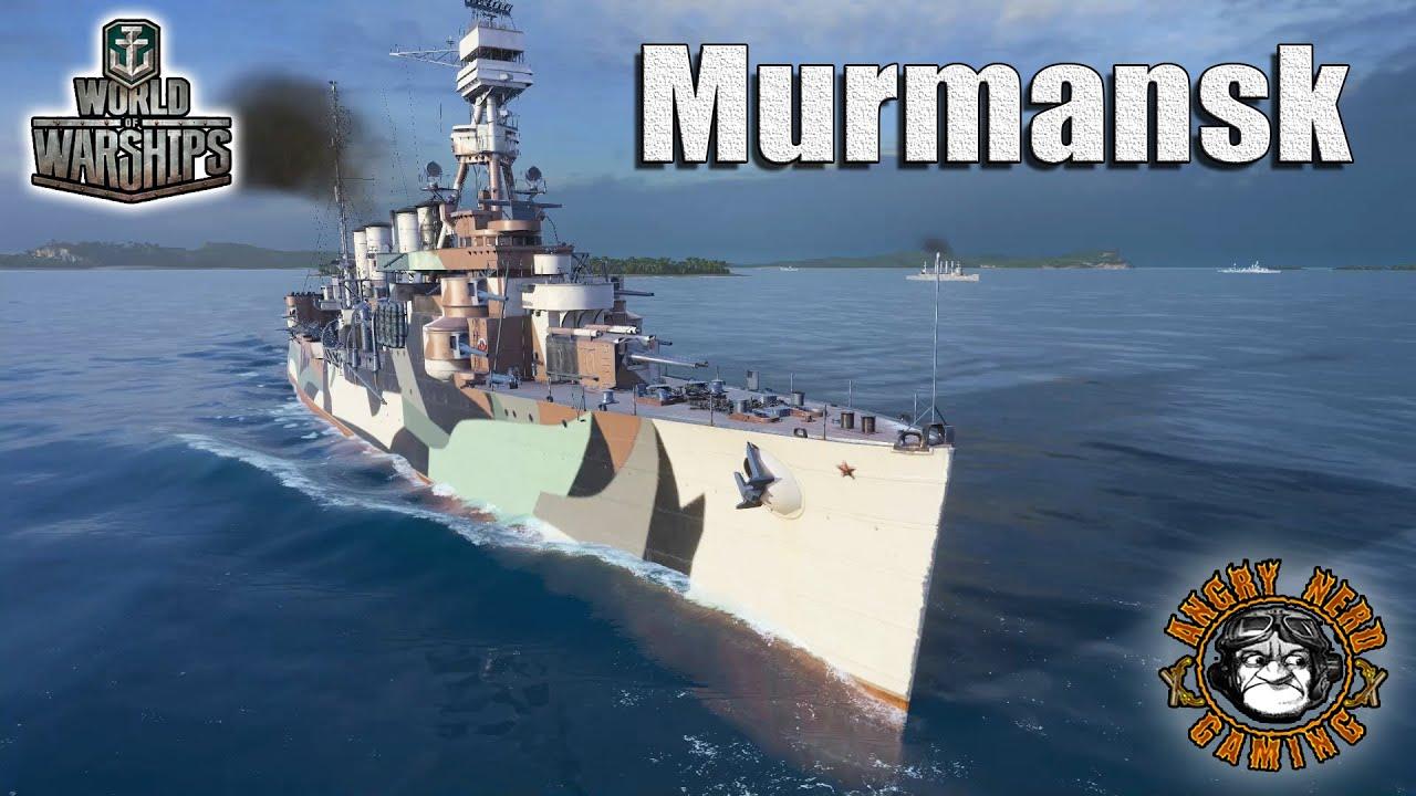 world of warships the murmansk youtube. Black Bedroom Furniture Sets. Home Design Ideas