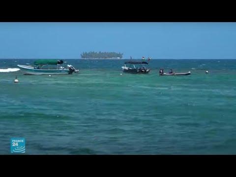 التغير المناخي يهدد جزر سان بلاس البنمية بالاختفاء تحت أمواج البحر  - نشر قبل 3 ساعة